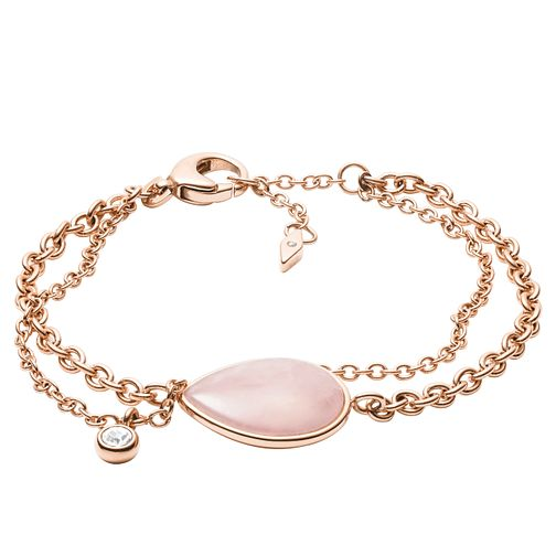 Fossil Vintage Ladies' Rose Gold Tone Quartz Bracelet - Product number 4237781