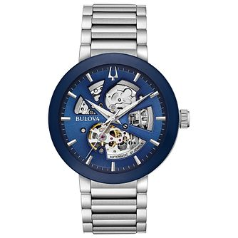 Bulova Modern Automatic Men's Stainless Steel Bracelet Watch - Product number 4239008
