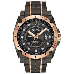 Bulova Men's Precisionist Stainless Steel Bracelet Watch - Product number 4239296