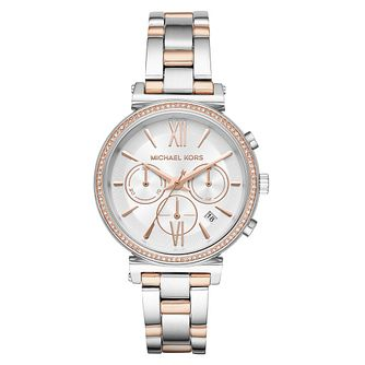 Michael Kors Sofie Ladies' Two Colour Bracelet Watch - Product number 4239377