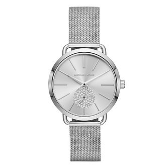 Michael Kors Portia Ladies' Stainless Steel Bracelet Watch - Product number 4239423
