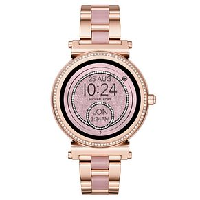 Michael Kors Access Sofie Gen 4 Rose Gold Tone Smartwatch - Product number 4240294