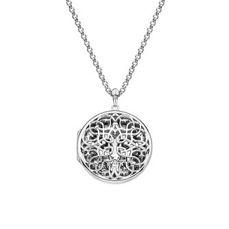 Hot Diamonds Sterling Silver Large Round Filigree Locket - Product number 4241762