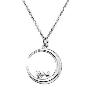Lily & Lotty Silver Rhodium Plated Loving You Necklace - Product number 4242211