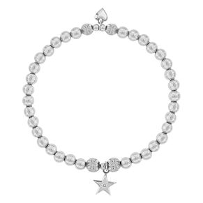 Lily & Lotty Silver Rhodium Plated Shining Star Bracelet - Product number 4245431