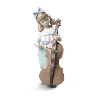 Nao Porcelain Girl With Cello Figurine - Product number 4245873
