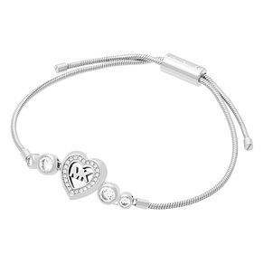 Michael Kors Ladies' Stone Set Heart Adjustable Bracelet - Product number 4246705