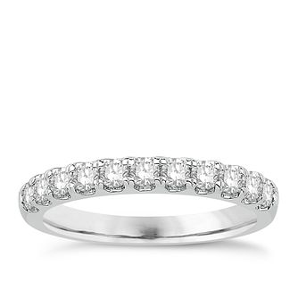 Eternal Brilliance 18ct White Gold 0.50ct Wedding Ring - Product number 4258258