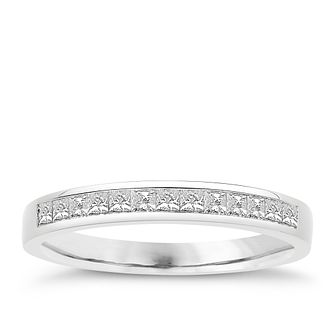 Eternal Brilliance 18ct White Gold 0.33ct Wedding Ring - Product number 4276876