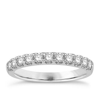 Eternal Brilliance Platinum 0.50ct Wedding Ring - Product number 4282493