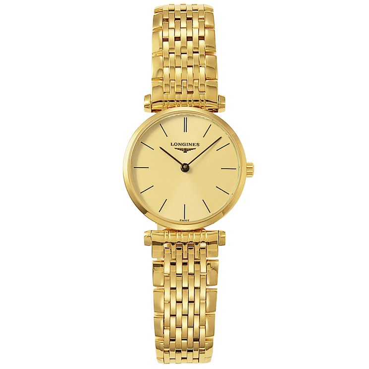 Longines La Grande Classique ladies' gold-plated watch - Product number 4282965