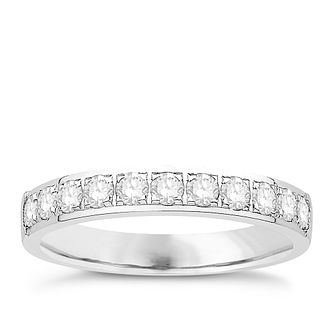 Eternal Brilliance Platinum 0.50ct Wedding Ring - Product number 4284518