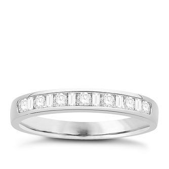 Eternal Brilliance Platinum 0.25ct Wedding Ring - Product number 4285034