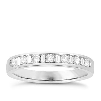 Eternal Brilliance Platinum 0.33ct Wedding Ring - Product number 4285778