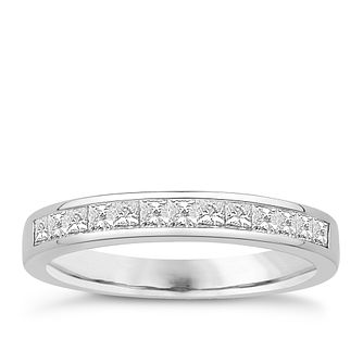 Eternal Brilliance Platinum 0.50ct Wedding Ring - Product number 4287150