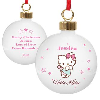 Personalised Hello Kitty Fairy Bauble - Product number 4289781