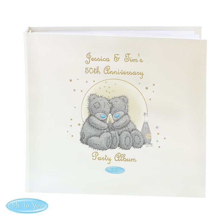Personalised Me To You Celebration Album with Sleeves - Product number 4290755