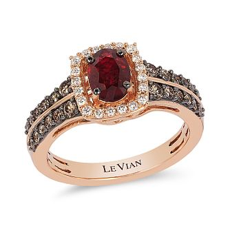 Le Vian 14ct Strawberry Gold Passion Ruby Ring - Product number 4292022