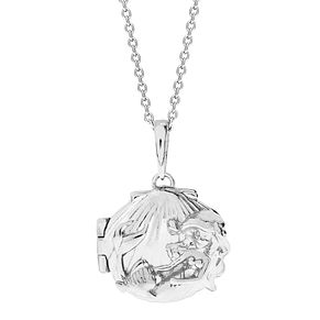 Disney Little Mermaid Children's Silver Shell Locket - Product number 4297482