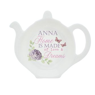 Personalised Secret Garden Tea Bag Rest - Product number 4298039