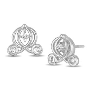 Enchanted Disney Fine Jewelry Cinderella Stud Earrings - Product number 4311388