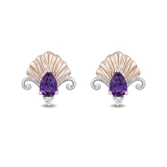 Enchanted Disney Fine Jewelry Diamond Ariel Earrings - Product number 4311418