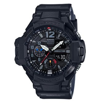 Casio Gravity Men's Black Resin Strap Watch - Product number 4316908