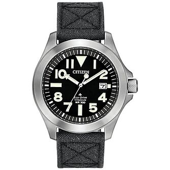 Citizen Eco Drive Men's Black Strap Watch - Product number 4321235