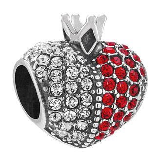 Chamilia Sterling Silver Queens Heart Bead - Product number 4326504