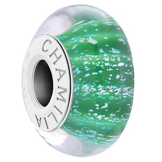Chamilia Sterling Silver Natural Elements Green Bead - Product number 4342186