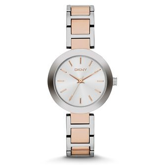 DKNY Stan Ladies' Two Colour Bracelet Watch - Product number 4347153