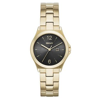 DKNY Ladies' Gold Tone Bracelet Watch - Product number 4355334