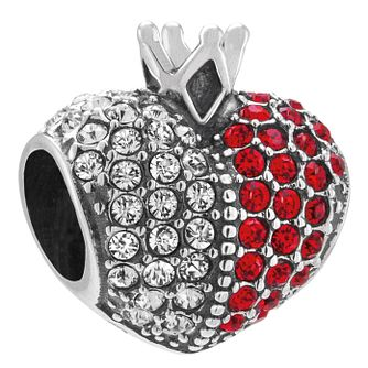 Chamilia Sterling Silver Queens Heart Swarovski Charm - Product number 4361865