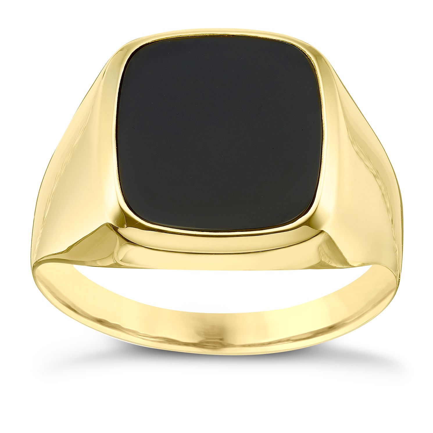 9ct Gold yx Signet Ring