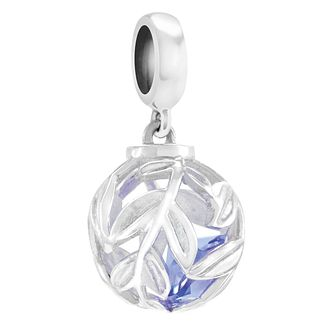 Chamilia Hidden Gems Silver & Tanzanite Swarovski Charm Bead - Product number 4370090