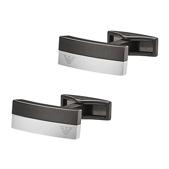 Emporio Armani Two Colour Cufflinks - Product number 4378555