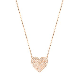 Swarovski Rose Gold Plated Cupid Necklace - Product number 4379837