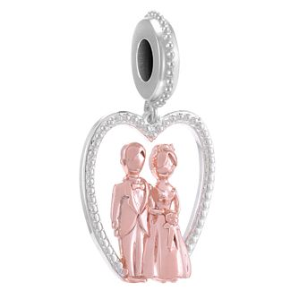 Chamilia Silver & Rose Gold-Plated Cake Topper Charm Bead - Product number 4381203