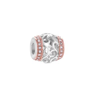 Chamilia Elegance Silver & Rose Gold-Plated Swarovski Bead - Product number 4381297