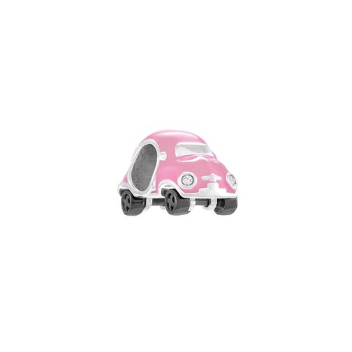Chamilia Mini Racer Sterling Silver & Pink Enamel Bead - Product number 4381300