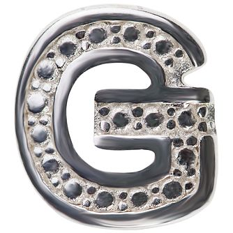 Chamilia Keepsake Locket Memory Charm Letter G - Product number 4381955