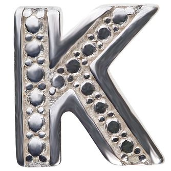 Chamilia Keepsake Locket Memory Charm Letter K - Product number 4382129