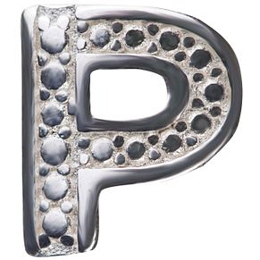 Chamilia Keepsake Locket Memory Charm Letter P - Product number 4382188