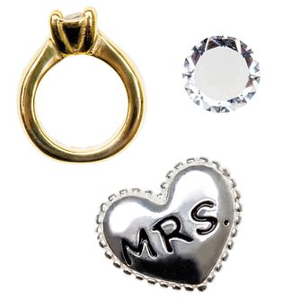 "Chamilia Keepsake ""I Do"" Memory Locket Charms - Product number 4382714"