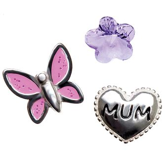 Chamilia Keepsake Mum Heart Memory Locket Charms - Product number 4382781