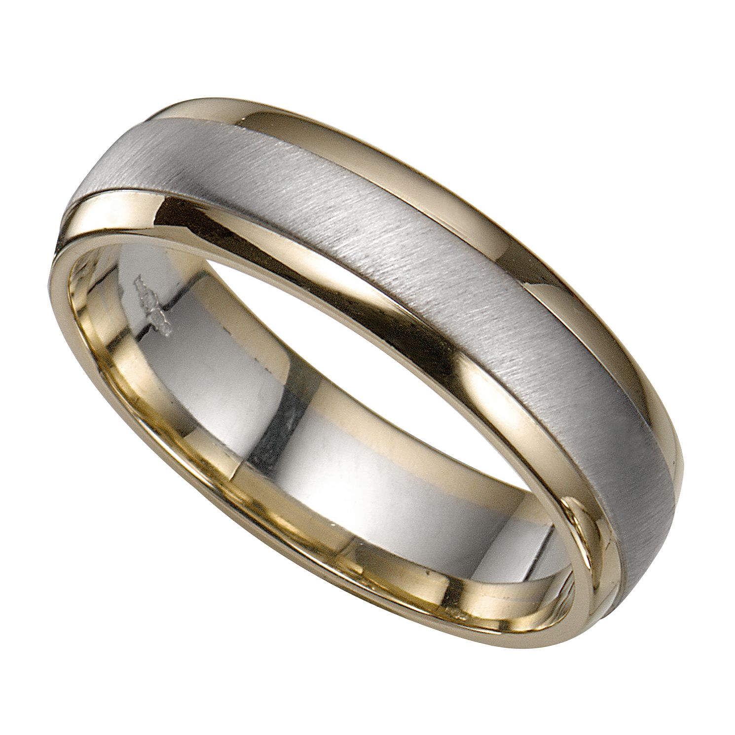Grooms 9ct Two Colour Gold Ring