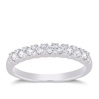 18ct White Gold 1/3ct Forever Diamond Eternity Ring - Product number 4401972