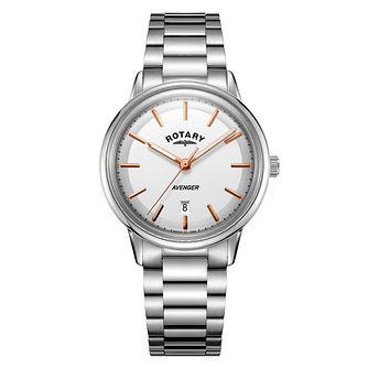 Rotary Avenger Men's Stainless Steel Bracelet Watch - Product number 4410203