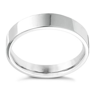 Platinum Extra Heavy Flat Court 7mm Ring - Product number 4436962