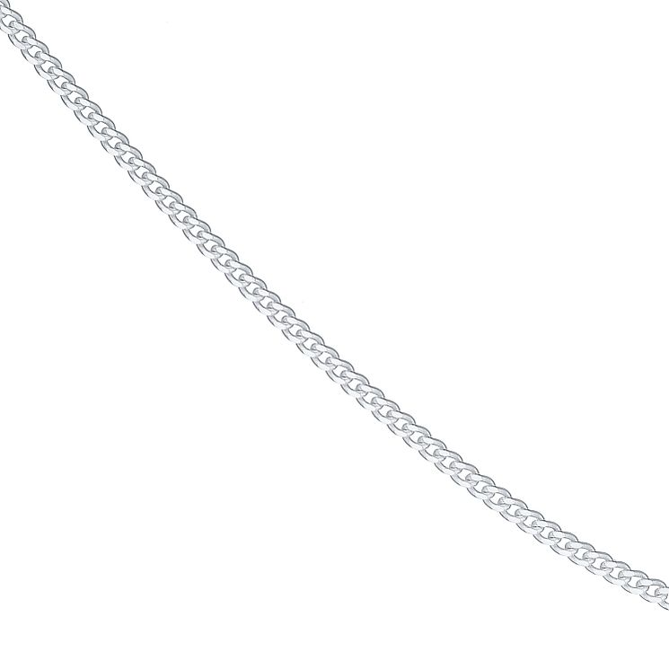 "Sterling Silver 22"" Curb Necklace - Product number 4437195"